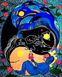 The Great Cosmic Lotus Dream 2013 pentax2